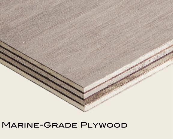 Marine plywood (3.6mm to 25mm)