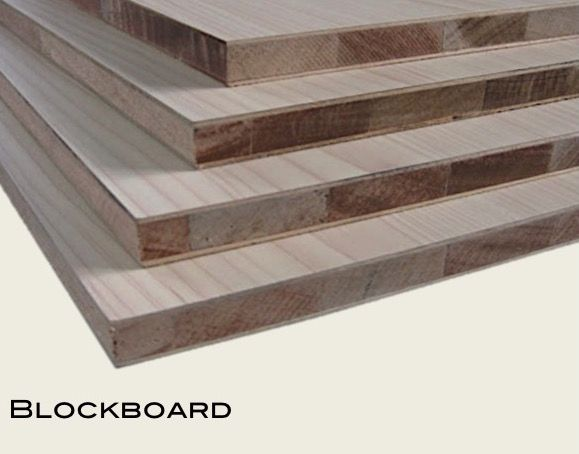 Blockboard - original surface (15mm to 25mm)