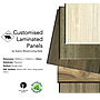 12mm plywood - Single faced HPL